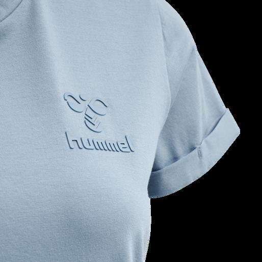 HMLISOBELLA T-SHIRT S/S, FADED DENIM, packshot
