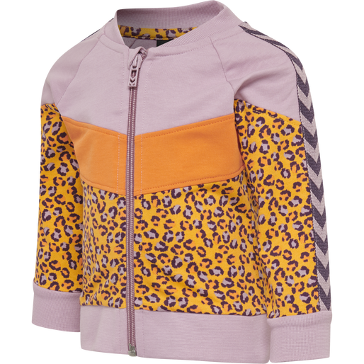 hmlVERONICA ZIP JACKET, MAUVE SHADOW, packshot