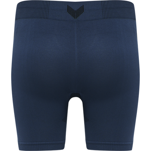 hmlFIRST SEAMLESS TRAINING SHORT TIGHTS WOMEN, DARK DENIM, packshot