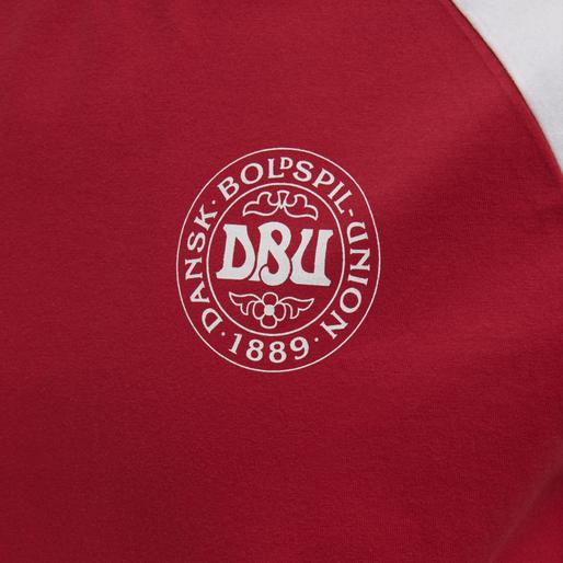 DBU FAN 2020 COT. TEE S/S, TANGO RED, packshot