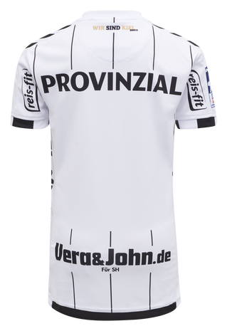THW KIEL 19-20 KIDS HOME JERSEY S/S, WHITE, packshot