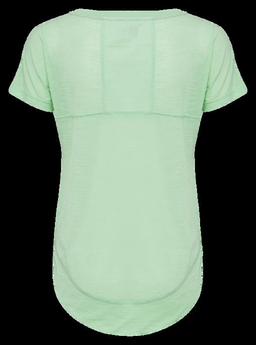 hmlSUNNY T-SHIRT S/S, ICE GREEN, packshot