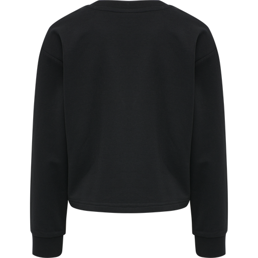 hmlCINCO SWEATSHIRT, BLACK, packshot