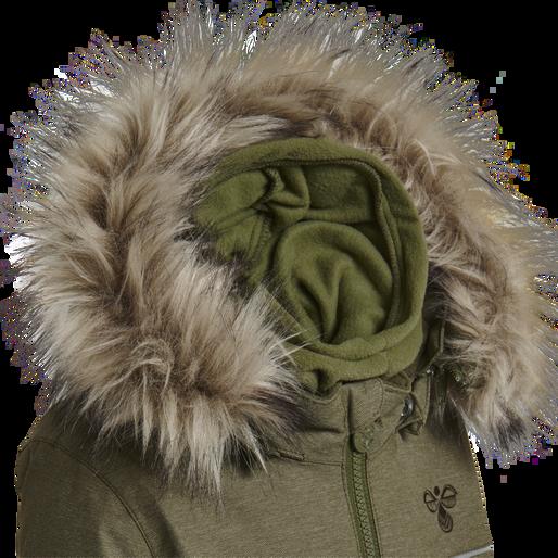 HMLPLAY SNOW SUIT, BURNT OLIVE , packshot