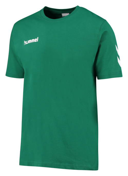 CORE COTTON TEE, EVERGREEN, packshot