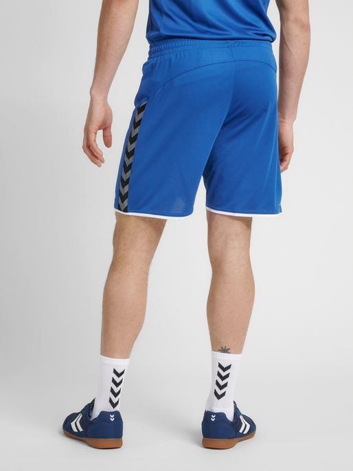 hmlAUTHENTIC POLY SHORTS, TRUE BLUE, model