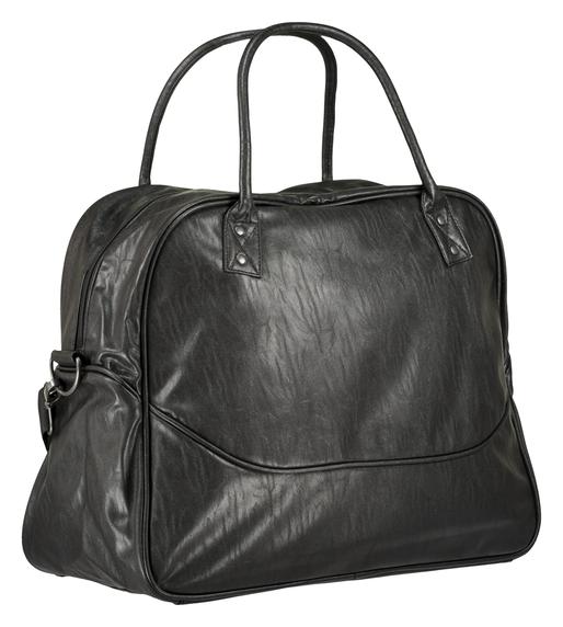 LUGO BIG WEEKEND BAG, BLACK, packshot