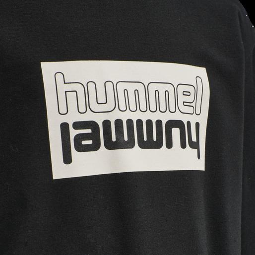 hmlDUO SWEATSHIRT, BLACK, packshot