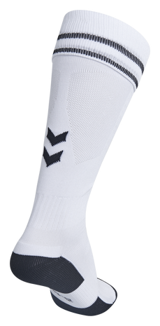 ELEMENT FOOTBALL SOCK , WHITE/BLACK, packshot