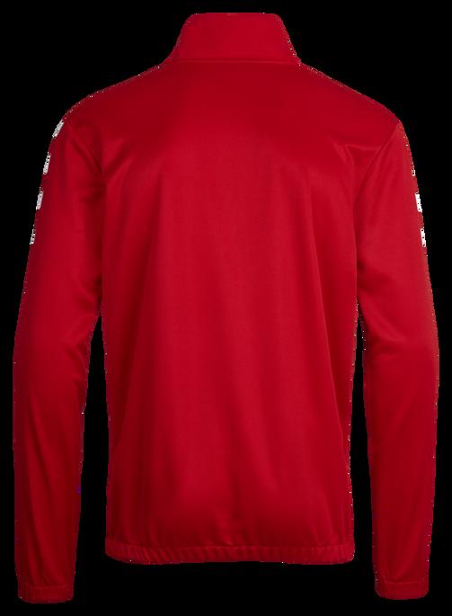 CORE 1/2 ZIP SWEAT, TRUE RED, packshot