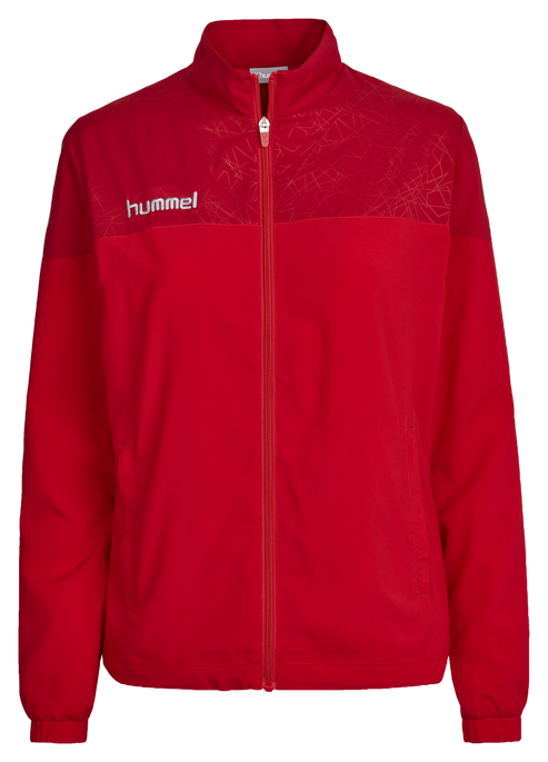 HUMMEL SIRIUS MICRO JACKET WO, TRUE RED/CHILI PEPPER, packshot