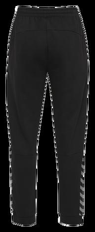 hmlAUTHENTIC SWEAT PANT, BLACK/WHITE, packshot