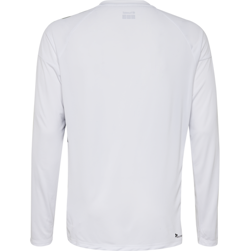 TECH MOVE KIDS JERSEY L/S, WHITE, packshot