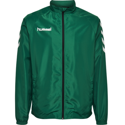 CORE MICRO ZIP JACKET, EVERGREEN, packshot