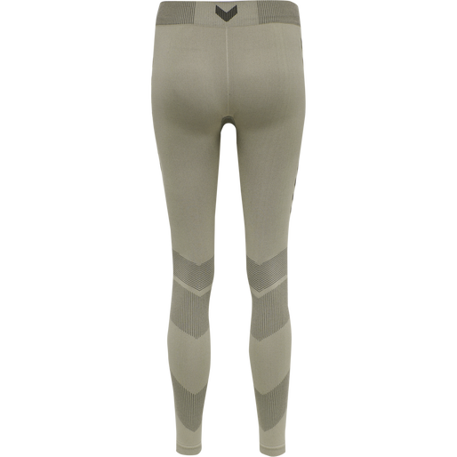 hmlFIRST SEAMLESS TRAINING TIGHT WOMEN, LONDON FOG, packshot