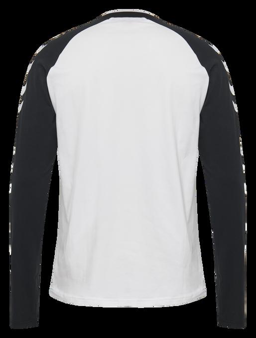 hmlMARK T-SHIRT L/S, WHITE, packshot