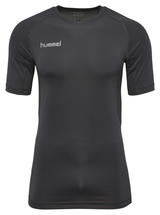 HUMMEL FIRST PERF SS JERSEY, BLACK, packshot