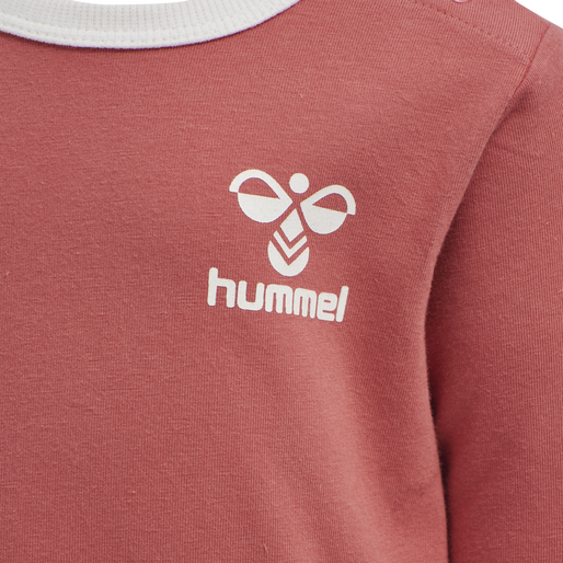 hmlMAUI T-SHIRT L/S, FADED ROSE , packshot