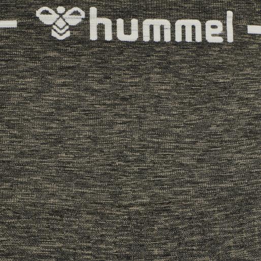 hmlHANA SEAMLESS HIGH WAIST TIGHTS, VETIVER MELANGE, packshot