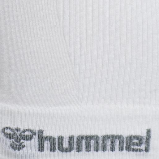 hmlTIF SEAMLESS TOP, WHITE, packshot