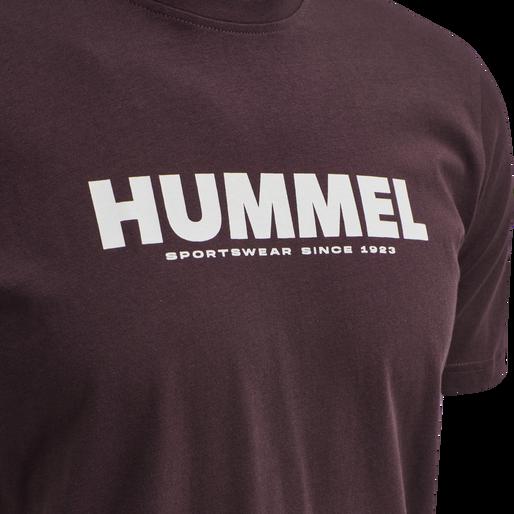 hmlLEGACY T-SHIRT, FUDGE , packshot