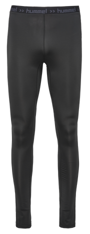 HUMMEL FIRST PERF  WO L TIGHTS, BLACK, packshot