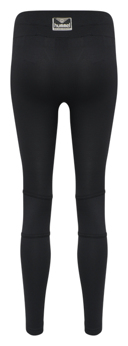 hmlHEROINE SEAMLESS TIGHTS , BLACK, packshot