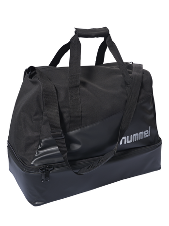 AUTHENTIC CHARGE SOCCER BAG, BLACK, packshot