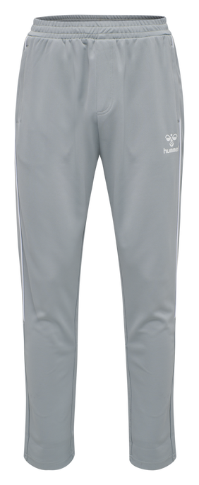 hmlARNE TAPERED PANTS, QUARRY, packshot