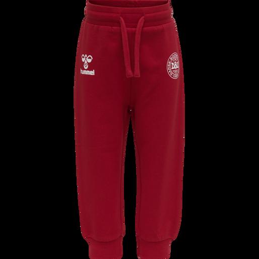 hmlGEJST CREW SUIT, TANGO RED, packshot