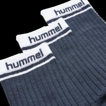 hmlCONI 3-PACK SOCK, BLUE NIGHTS, packshot