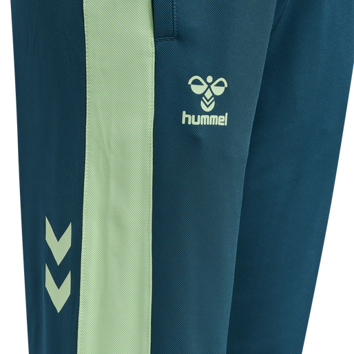 hmlACTION TRAINING PANTS WOMAN, BLUE CORAL/GREEN ASH, packshot