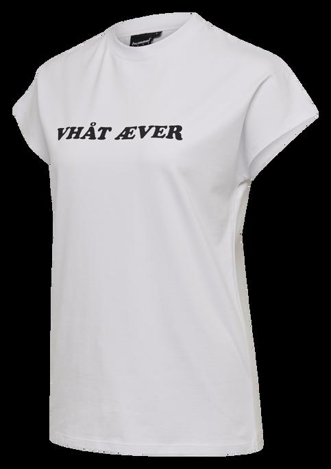 hmlVESTER T-SHIRT S/S, WHITE, packshot