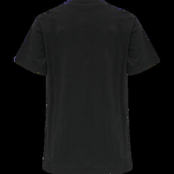 hmlDUO T-SHIRT S/S, BLACK, packshot