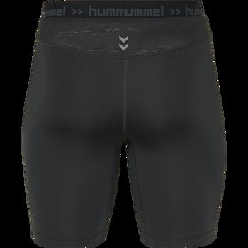 HUMMEL FIRST PERFORMANCE KIDS TIGHT SHORTS, BLACK, packshot