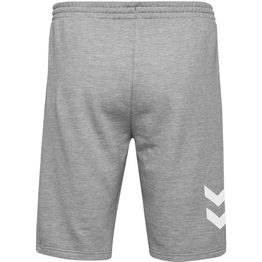 HUMMEL GO KIDS COTTON BERMUDA SHORTS, GREY MELANGE, packshot