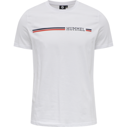 hmlMONTREAL T-SHIRT, WHITE, packshot