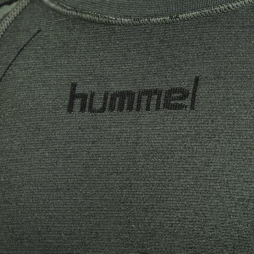 hmlSPUN SEAMLESS T-SHIRT L/S, THYME, packshot