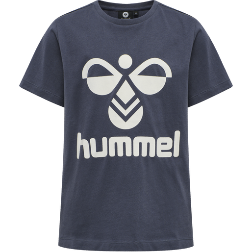 hmlTRES TEE SHIRT S/S, OMBRE BLUE , packshot