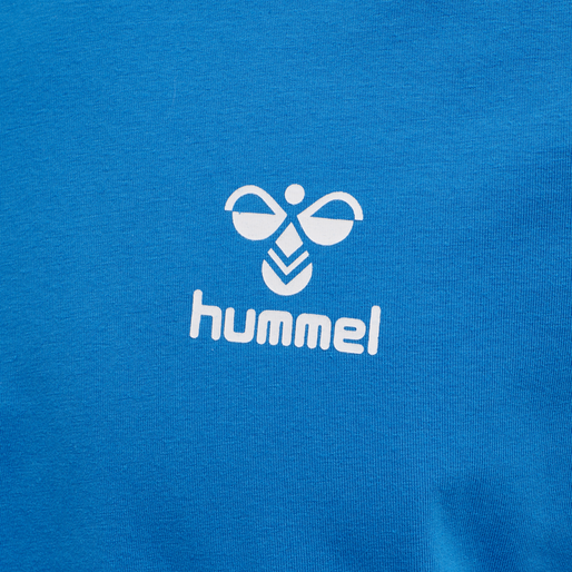 hmlMARK T-SHIRT S/S, BLUE ASTER, packshot