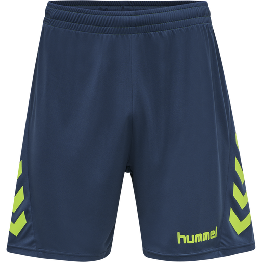 hmlPROMO DUO SET, LIME PUNCH/DARK DENIM, packshot