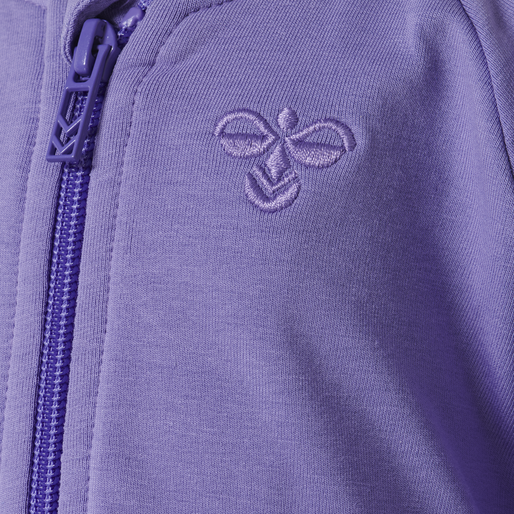 hmlMARGRET ZIP JACKET, ASTER PURPLE, packshot