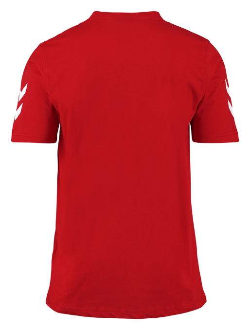 CORE COTTON TEE, TRUE RED, packshot