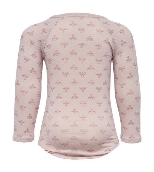 HMLBABY BEE BODY L/S, BURNISHED LILAC, packshot