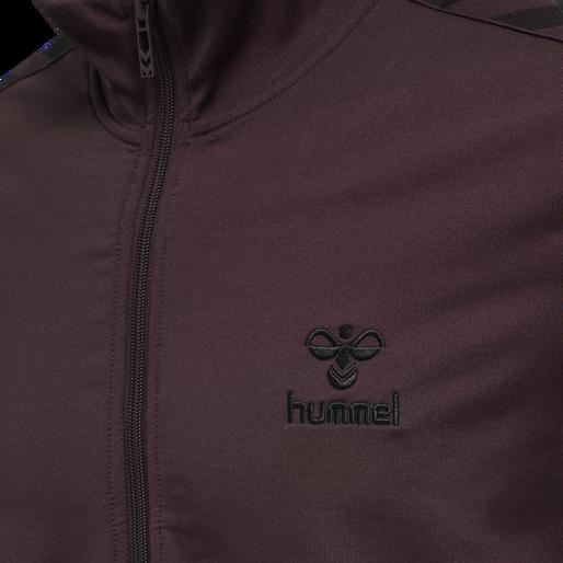 hmlNATHAN 2.0 ZIP JACKET, FUDGE , packshot