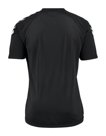 AUTH. CHARGE SS POLY JERSEY, BLACK, packshot