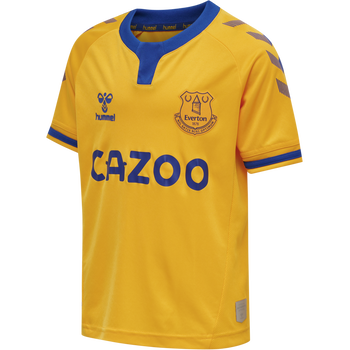 EFC 20-21 AWAY JERS S/S_KID, BLACK/AMBER, packshot