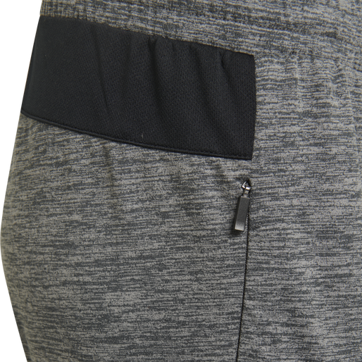 HMLJASMINE PANTS, DARK GREY MELANGE, packshot