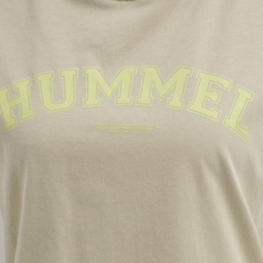 hmlCYRUS T-SHIRT, HUMUS, packshot