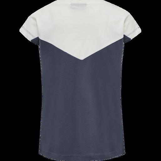 hmlCIETE T-SHIRT S/S, OMBRE BLUE , packshot